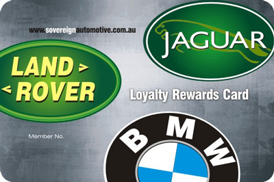 sovereign loyalty card